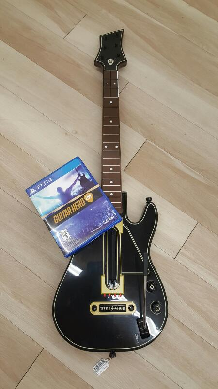 SONY Video Game Accessory GUITAR HERO LIVE - PS4