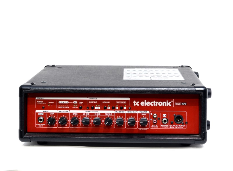 TC Electronic BH500 500W Bass Head Guitar Amplifier *Free Shipping*