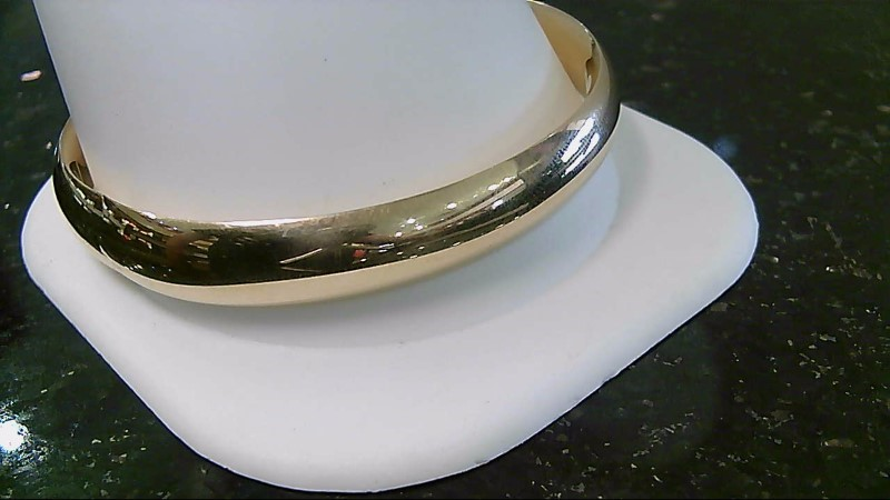 14K Yellow Gold Fashion Bangle Bracelet
