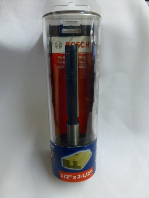 "Bosch 85252MC 1/2"" x 2-1/2"" Straight Bit *Barely Used*"