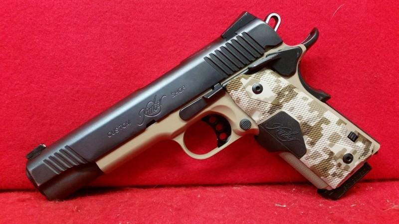 Kimber Custom Shop Custom Covert II 45acp - Crimson Trace Grips