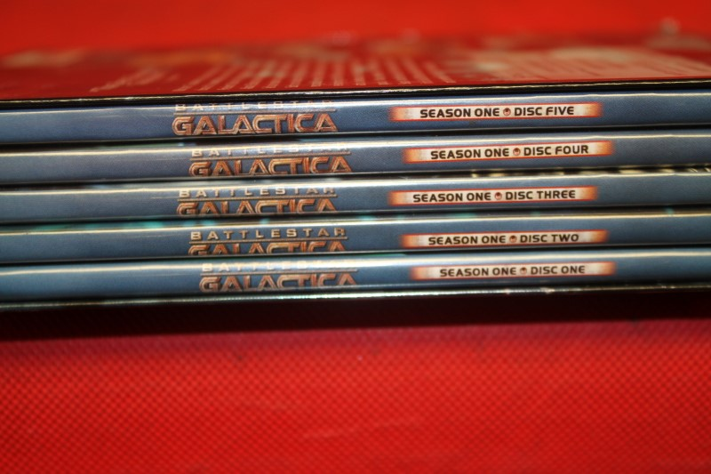 Battlestar Galactica - Season 1 (DVD, 2005, 5-Disc Set) FREE SHIPPING