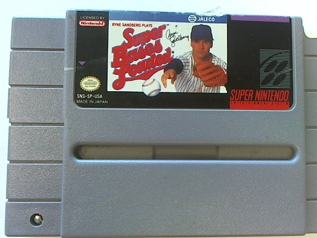 SUPER NINTENDO SUPER BASES LOADED