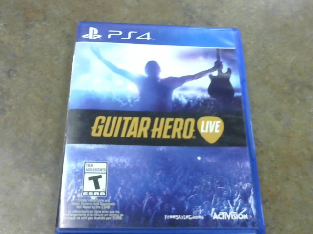 SONY Sony PlayStation 4 Game GUITAR HERO LIVE - PS4