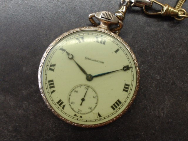 BURLINGTON Pocket Watch POCKET WATCH