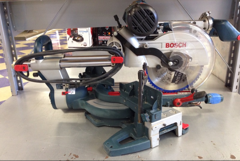 "Bosch - 10"" Dual Bevel Slide Miter Saw - 4410 *LOCAL PICK UP ONLY*"