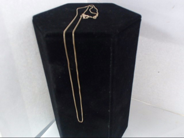 Gold Box Chain 14K Yellow Gold 0.8g