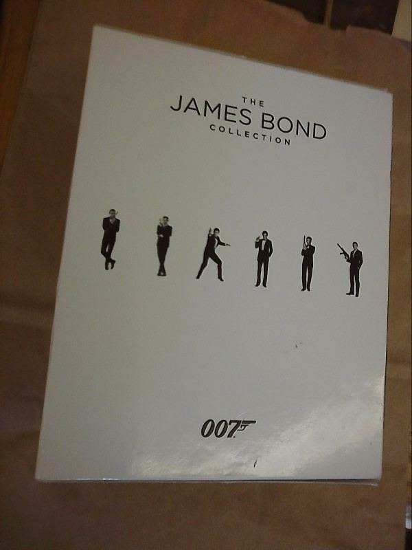 BLU-RAY BOX SET Blu-Ray THE JAMES BOND COLLECTION