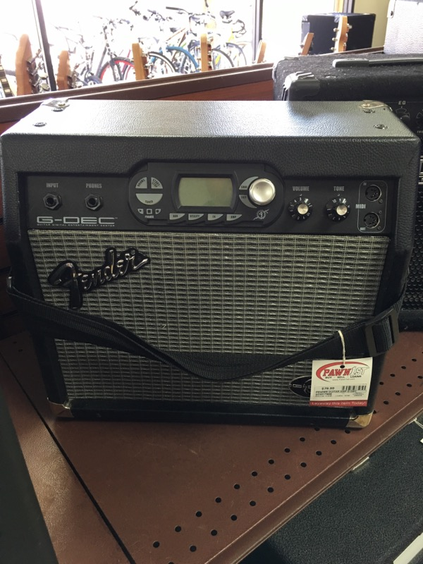 FENDER Electric Guitar Amp G-DEC