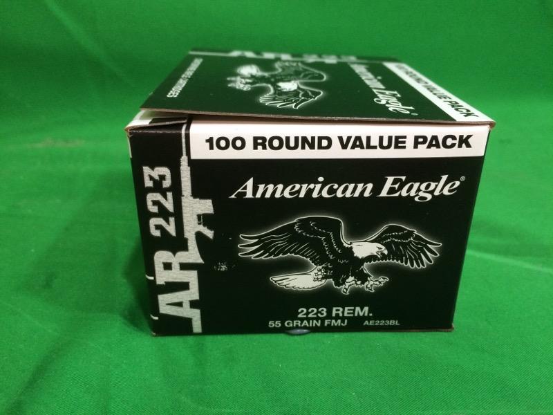 Federal® American Eagle .223 Remington 55-Grain Centerfire Ammunition