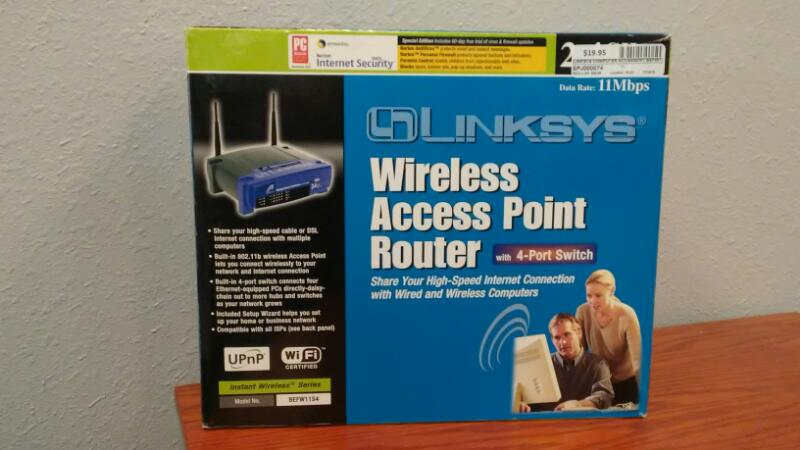 LINKSYS Computer Accessories BEFW11S4
