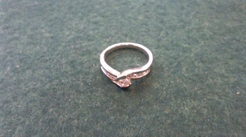 Lady's Diamond Fashion Ring 11 Diamonds .75 Carat T.W. 14K White Gold 4.2g