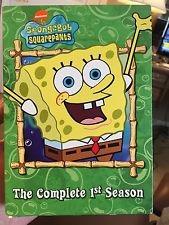 Spongebob Squarepants - The Complete 1st Season DVD 2003 3 Disc Set