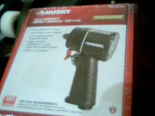 "HUSKY TOOLS Air Impact Wrench 1/2"" IMPACT WRENCH"