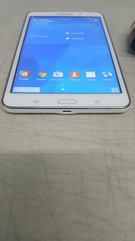"""Samsung Galaxy Tab 4, 8gb (7"""", SM-T230NU, White, Wi-Fi)"""