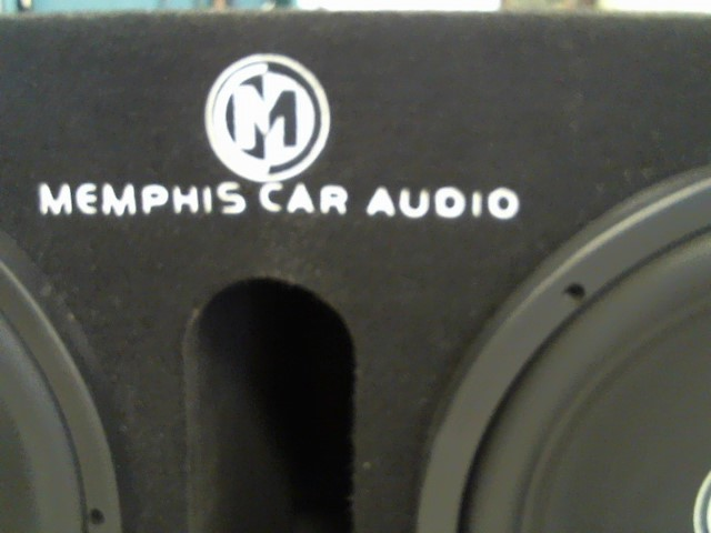 MEMPHIS AUDIO Speakers/Subwoofer SR 2X 12""