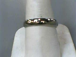 Gent's Gold Wedding Band 14K White Gold 2.3dwt Size:8.5