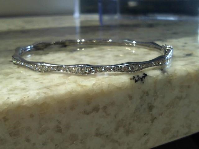 Gold Bracelet 18K White Gold 10.1g