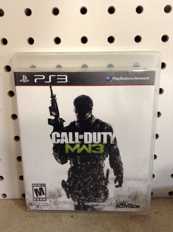 SONY Sony PlayStation 3 Game CALL OF DUTY MODERN WARFARE 3 - MW3 - PS3