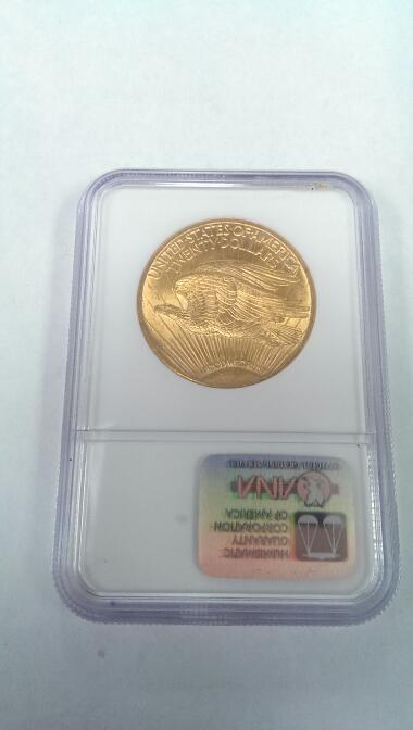 1924 Saint St Gaudens $20 Gold