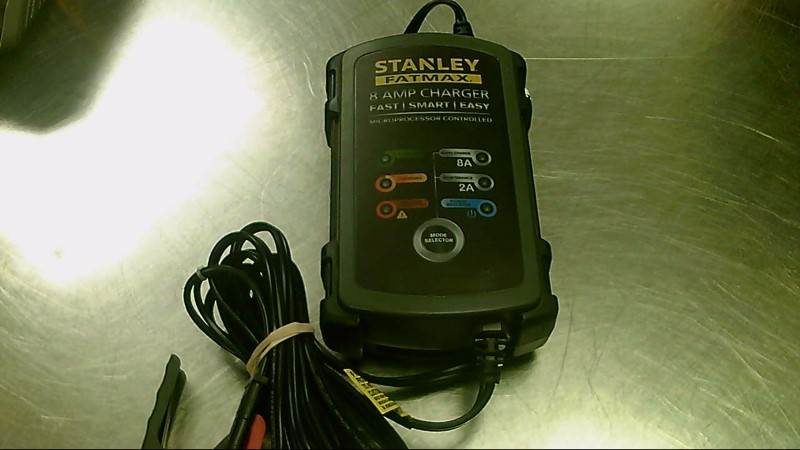 STANLEY BATTERY CHARGER 8 AMP BC8S