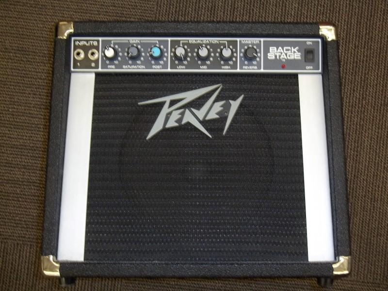 PEAVEY GUITAR AMP BACKSTAGE