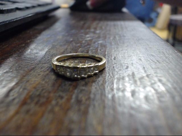 Lady's Diamond Cluster Ring 7 Diamonds .50 Carat T.W. 14K Yellow Gold 3g Size:7