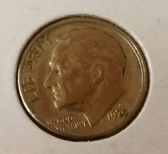 1970 D Denver Mint Roosevelt Dime Double Die Error Coin