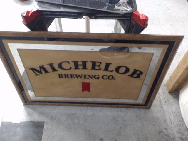 MICHELOB Sign MIRROR