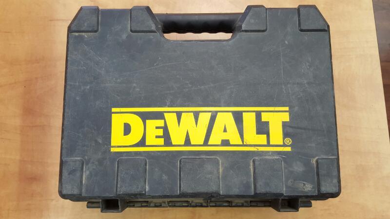 "DEWALT CORDLESS DRILL 18V 1/2"" DC720KA"
