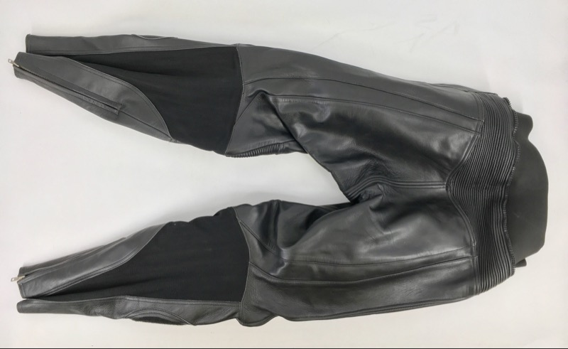 Teknic Black Leather Suit (Pants & Jacket) Size 42/52
