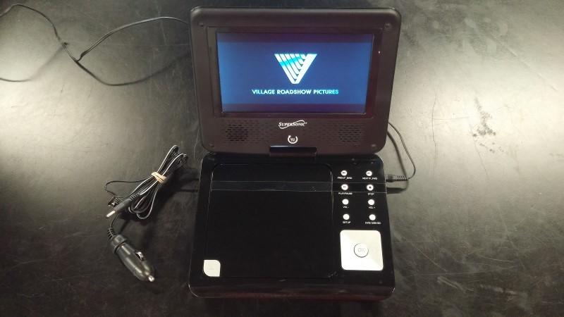 SUPER SONIC Portable Television SC-178DVD