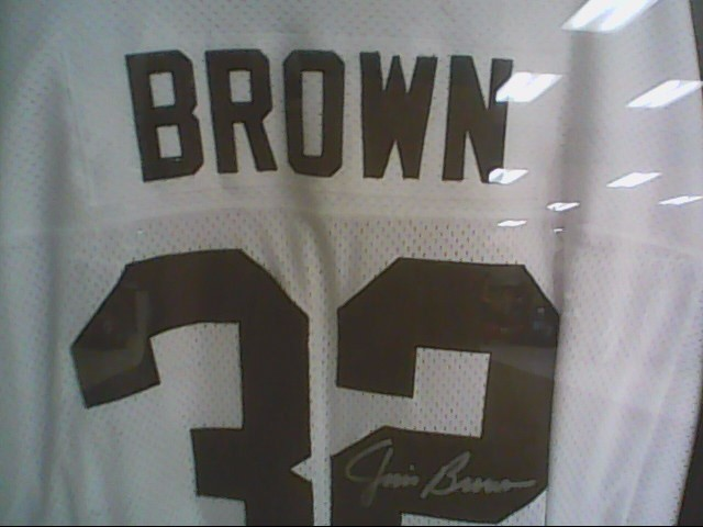 JIM BROWN Sports Memorabilia JERSEY