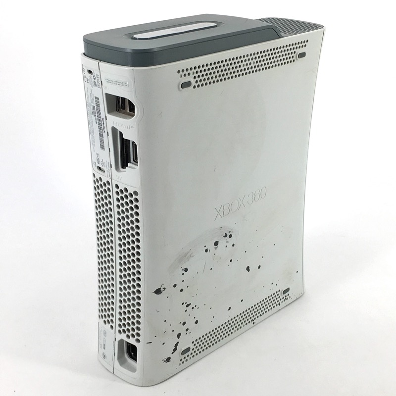 Microsoft Xbox 360 White 60GB *As-Is*