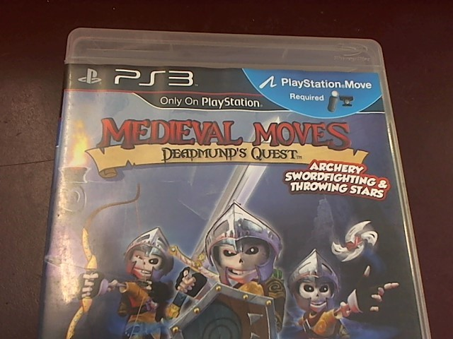 SONY PS3 MEDIEVAL MOVES DEADMUND'S QUEST