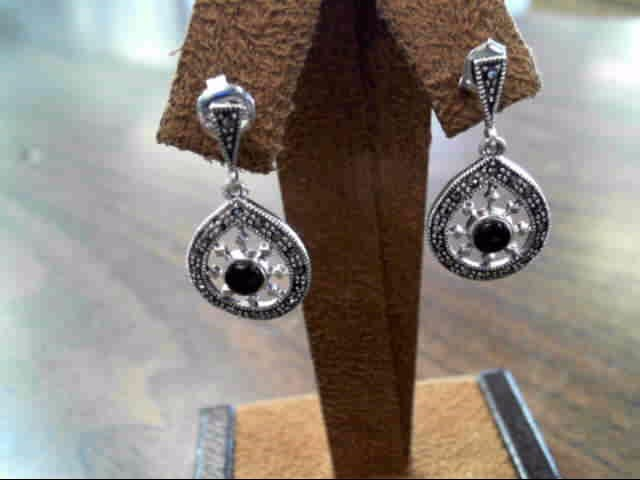 Silver Earrings 925 Silver 2.6dwt
