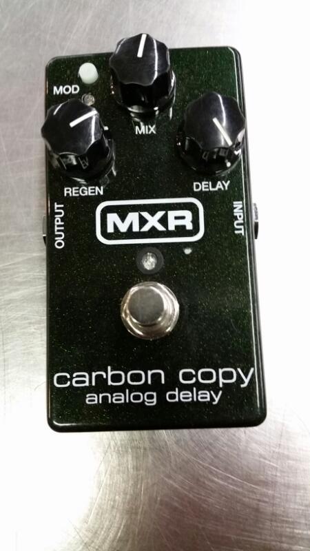 MXR Effect Equipment CARBON COPY ANALOG DELAY