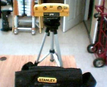 STANLEY Level/Plumb Tool POINT LASER KIT SPK