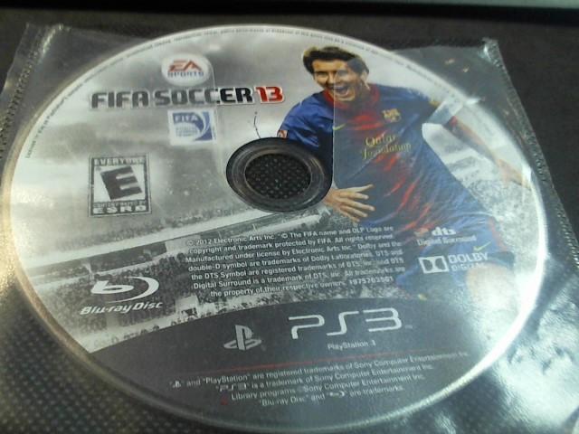 SONY PS3 FIFA SOCCER 13