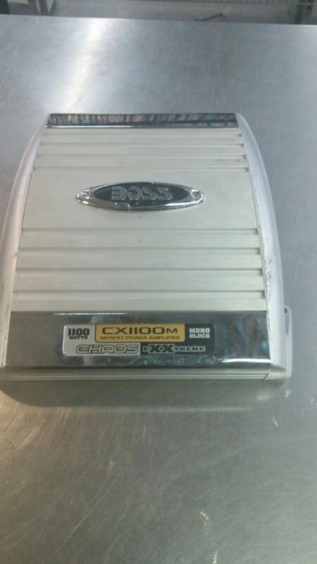 BOSS Car Amplifier CX1100M MOSFET POWER AMPLIFIER