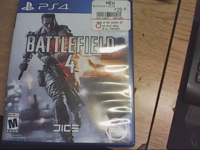 SONY Sony PlayStation 4 Game BATTLEFIELD 4