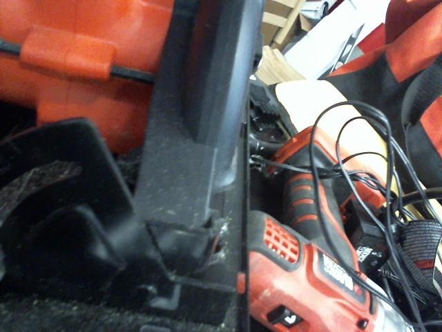 BLACK&DECKER Cordless Drill BDCCS20 LDX220 BDCF20