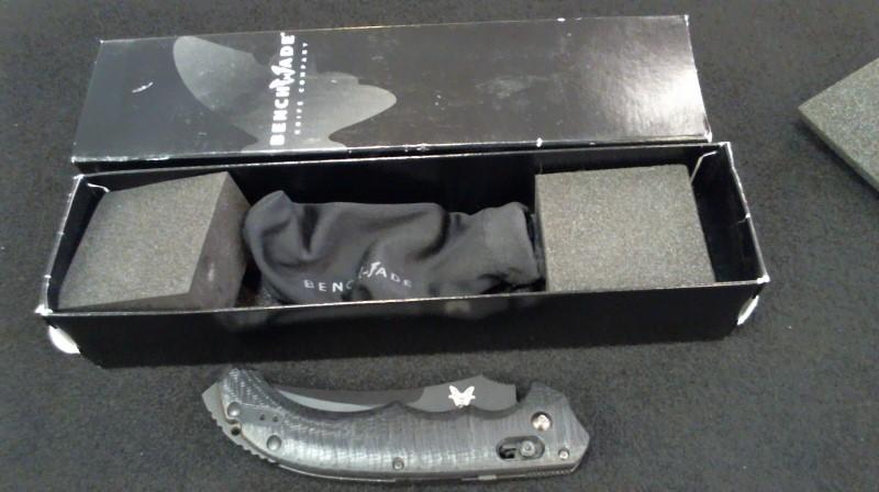 BENCHMADE Pocket Knife 154CM