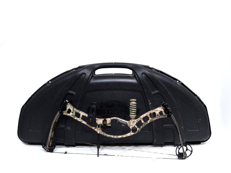 Hoyt TurboHawk Compound Bow - 50-60# w/ Hard Case Bundle!