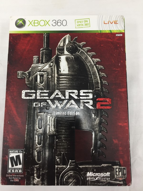 MICROSOFT XBOX 360 GEARS OF WAR 2 LIMITED EDITION XBOX 360