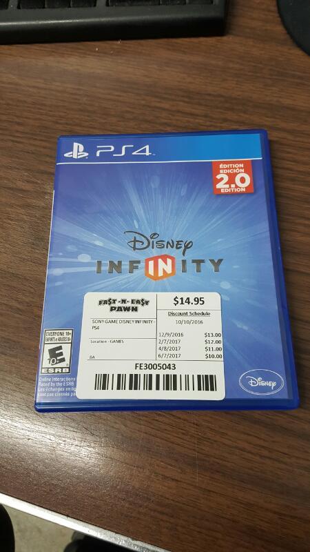 Disney Infinity -- 2.0 Edition (Sony PlayStation 4, 2014) PS4