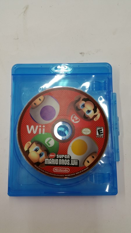 Super Mario Bros. Wii Game