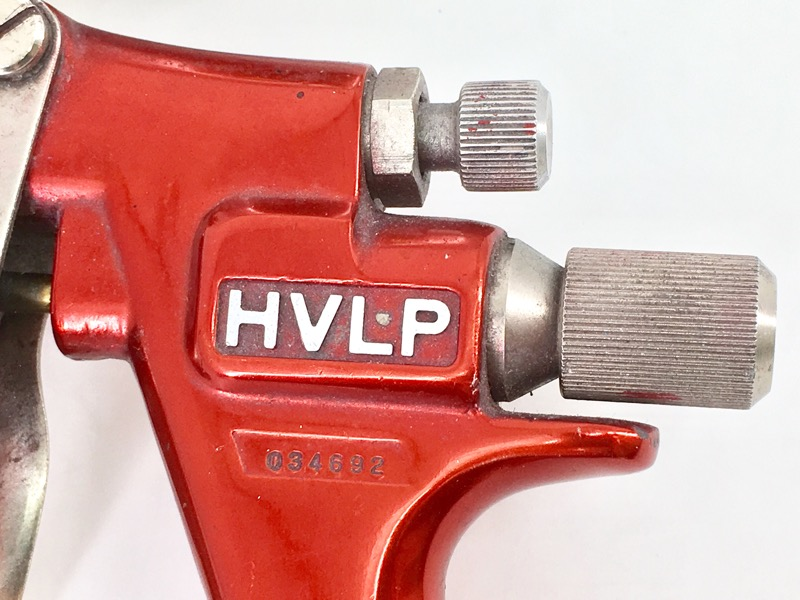 BINKS M1-G HVLP PAINT GUN RED