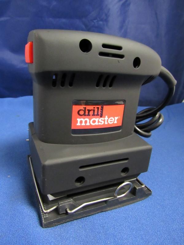 DRILL MASTER ORBITAL HAND SANDER 61509