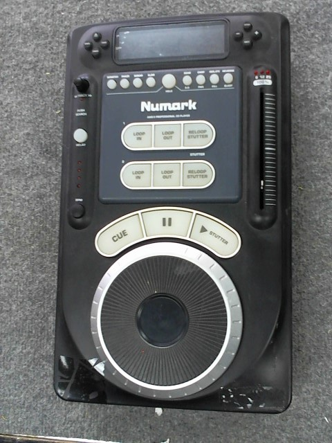 NUMARK ELECTRONICS  AXIS-9 CD PLAYER